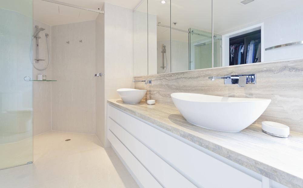 Badkamermeubel op maat gemaakt loungeset 2017 - Badkamermeubels steen ...
