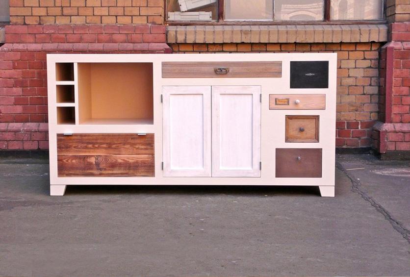 Handgrepen Keuken Industrieel : Een nieuwe kast maken met oude schuiven