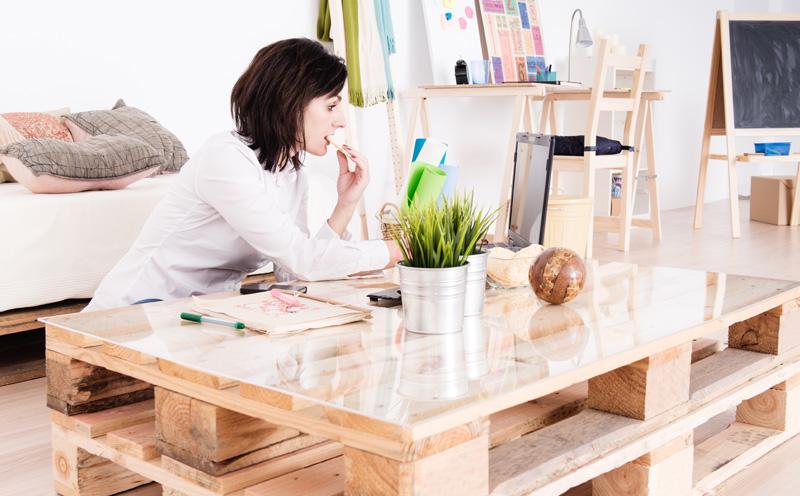 Salontafel van palet  Inspiratie  u0026 Voorbeelden